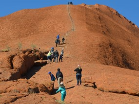 Uluru group walking tour