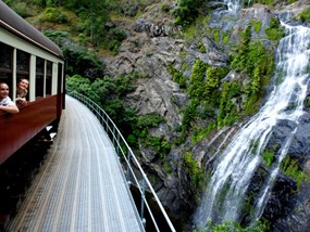 AUCNS Down Under Australia Kuranda, Self Drive, Scenic Rail & Skyrail Tour POP