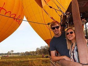 AUCAI Hot Air Balloon Cairns Extended flight & Return transfer POP