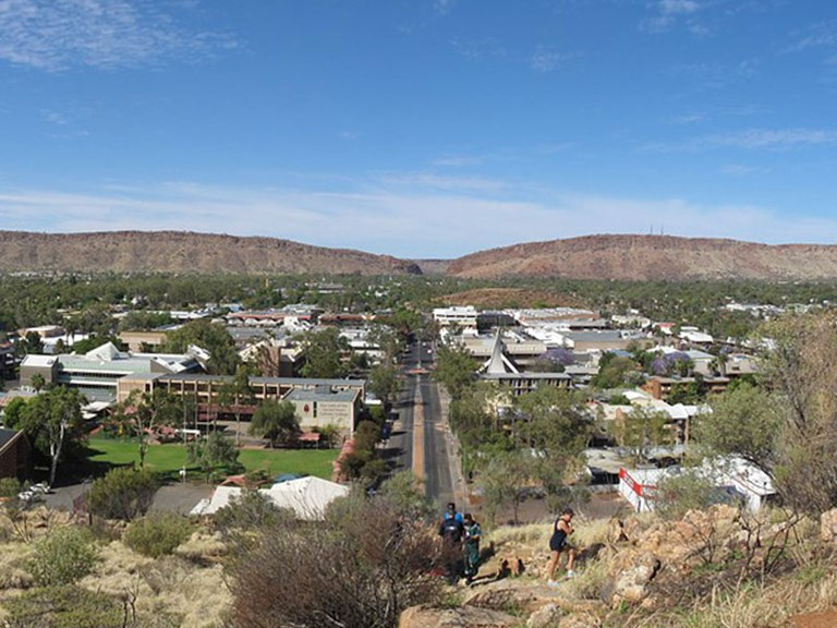 Alice Springs View