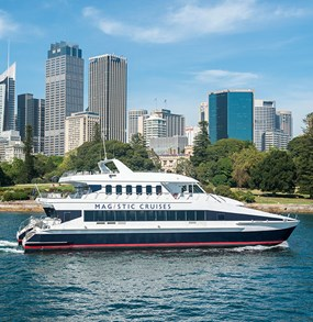 2-Hour Magistic Sydney Harbour Sightseeing Cruise