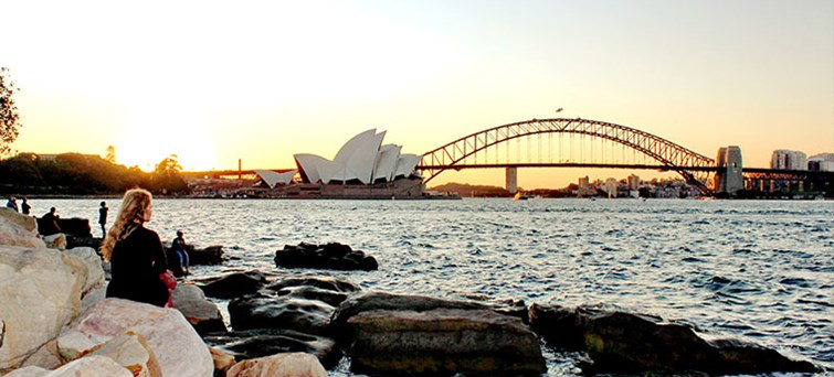 Opera House and Harbour Bridge Sydney