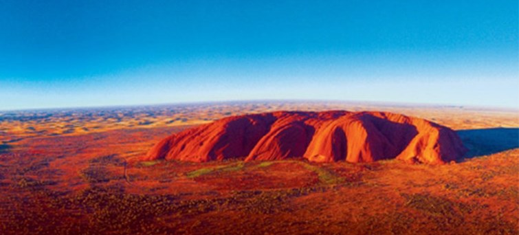 Guided coach transfer from Ayers Rock to Alice Springs