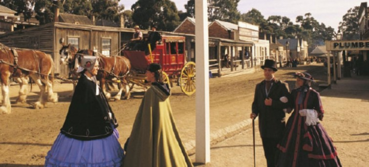 Sovereign Hill Gold Rush Day Tour