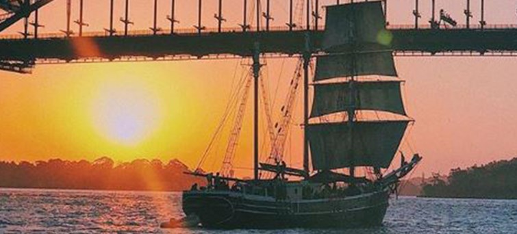 Sydney Harbour Tall Ships Wine & Canapés Evening Cruise BNR3