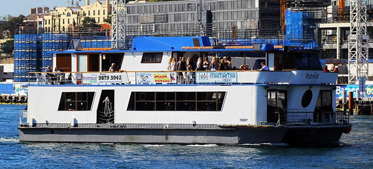 rhythmboat abba tribute sydney harbour lunch cruise BNR2