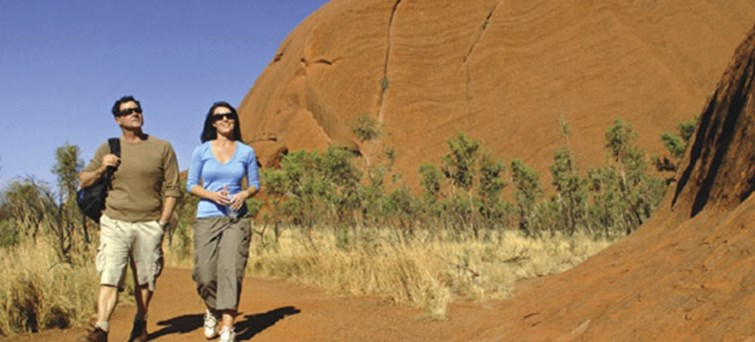 Uluru Morning Guided Base Walk Tour