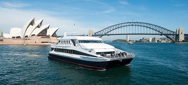 Magistic Cruise and Sydney Harbour Bridge