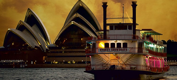 Sydney Show Boat and Opera House