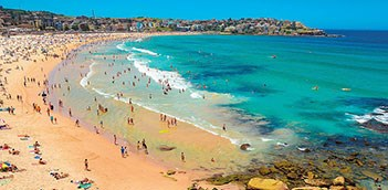 FREEGIFT Morning Sydney City Bondi Beach Guided Coach Tour