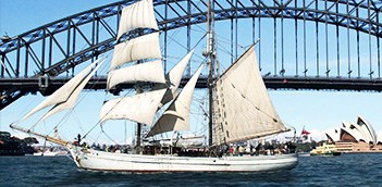 Sydney Harbour Tall Ships Champagne Brunch Cruise WCU1