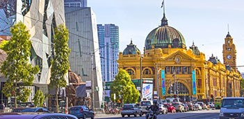Melbourne city sightseeing tour